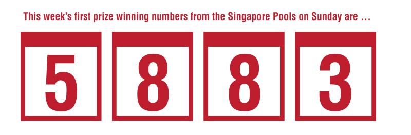Singapore pools prizes